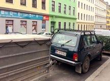Rosyjski samochód obrazy stock