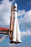 rosyjski statek kosmiczny Zdjęcie Stock