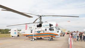 Rosyjski sytuaci awaryjnej ministerstwa helikopter Obraz Royalty Free