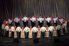 Rosyjski taniec Fotografia Royalty Free