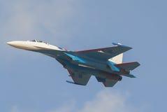 Rosyjski wojownik su-27 Zdjęcie Royalty Free