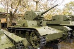 Rosyjski WW2 zbiornik Zdjęcia Stock