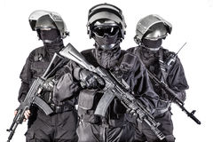 Rosyjskie jednostki specjalne Fotografia Stock