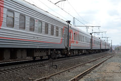 Rosyjskie koleje (RZD) Zdjęcia Stock
