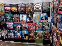 Rosyjskie koszulki z Putin Zdjęcie Royalty Free