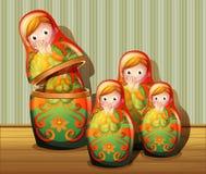 Rosyjskie lale Obraz Stock
