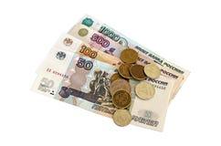 rosyjskie ruble zdjęcia royalty free