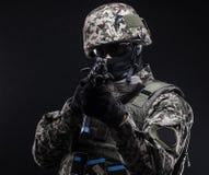 Rosyjskie siły zbrojne Zdjęcie Royalty Free