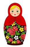 Rosyjskie tradyci matryoshka lale Zdjęcie Stock