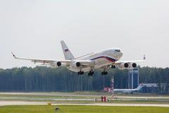 Rosyjskiego prezydenta dżetowy samolot Obraz Royalty Free