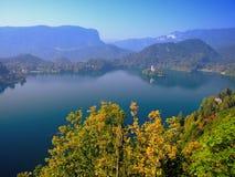 Jezioro Krwawiący, Slovenia, Europa Obraz Royalty Free