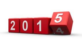 Rot berechnet 2015 Stockfoto