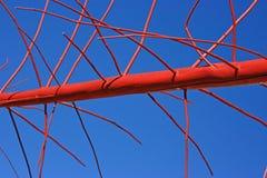 Rot-blauer Auszug Stockfotos