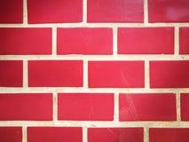 Rot blockiert Zusammensetzung mit abstraktem Muster Stockfotos