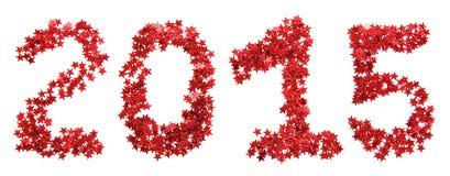 Rot des neuen Jahres Stockfoto