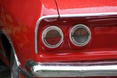 Rot ein Auto Lizenzfreie Stockfotos