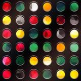 Rot, gelb, Grün Stockbild