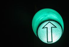 Rot, gelb, Grün Grüne Leuchte lizenzfreie stockfotos