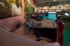 Rot MG 1952 TD Stockfotografie