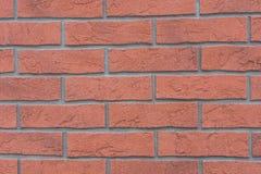 Rot mit weißer Verbindung Stockfotografie