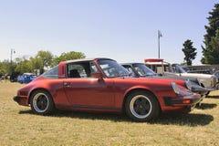Rot Porsches Targa Stockbilder