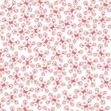 Rot-rosafarbenes Muster Stockbilder