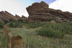 Rot schaukelt Kolorado Stockfoto