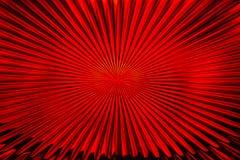 Rot-u. Schwarz-Zoom-Linien Stockfotos