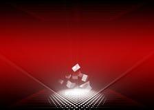 Rot u. Weiß Lizenzfreies Stockbild