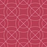 Rot und blaß - rosa geometrisches nahtloses Muster Stockfoto