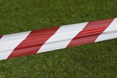 Rot- und Weißband Lizenzfreies Stockbild
