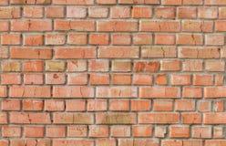 Rot verwittertes nahtloses Muster der Backsteinmauer Stockfotografie