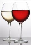 Rot-weiß-vollständig lizenzfreies stockfoto