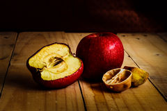 Rot and withered Fruits Royalty Free Stock Images