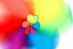 Rotação colorida foto de stock