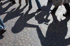 Rotação com sombras fotografia de stock royalty free