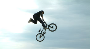Rotação da bicicleta Fotos de Stock Royalty Free
