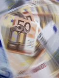 Rotação da moeda fotos de stock royalty free