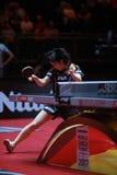 Rotação da parte superior de HIRANO Miu contra Ding Ning fotografia de stock