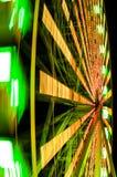 Rotação da roda de ferris imagens de stock