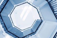Rotação das escadas foto de stock royalty free