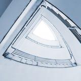 Rotação das escadas fotos de stock royalty free
