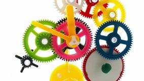 Rotação do maquinismo de relojoaria vídeos de arquivo