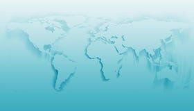 Rotação do mundo ilustração do vetor