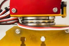Rotação do rolamento do braço do mecânico fotos de stock