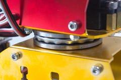 Rotação do rolamento do braço do mecânico fotografia de stock royalty free