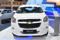 Rotação nova de Chevrolet 1,5 litros na exposição Imagens de Stock