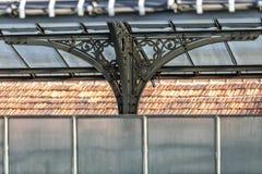 Rota cênico sobre os telhados da galeria de Vittorio Emanuele II Galeria de Highline, abrigo do estilo de Nouveau, Milão, Lombard fotos de stock royalty free