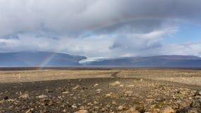 Rota das montanhas de Kjölur Fotografia de Stock