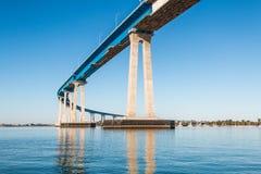 Rota 75 do estado da ponte da baía de San Diego-Coronado Fotografia de Stock